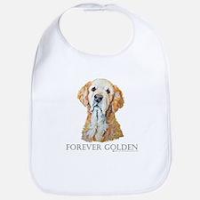 Golden Retreiver Dog Gifts Bib