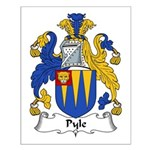 Pyle Family Crest Small Poster