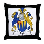 Pyle Family Crest Throw Pillow