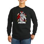 Pye Family Crest Long Sleeve Dark T-Shirt