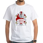 Pusey Family Crest White T-Shirt