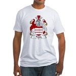 Pusey Family Crest Fitted T-Shirt