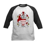 Pusey Family Crest Kids Baseball Jersey