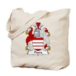 Pusey Family Crest Tote Bag