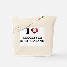 I love Glocester Rhode Island Tote Bag