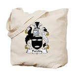Purefoy Family Crest Tote Bag