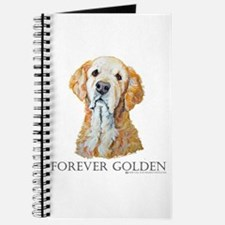 Golden Retreiver Dog Gifts Journal