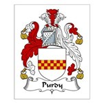 Purdy Family Crest Small Poster