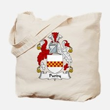 Purdy Family Crest Tote Bag