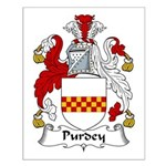 Purdey Family Crest Small Poster