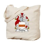 Purdey Family Crest Tote Bag