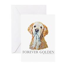 Golden Retreiver Dog Gifts Greeting Card