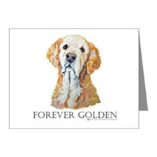Golden Retreiver Dog Gifts Note Cards (Pk of 10)
