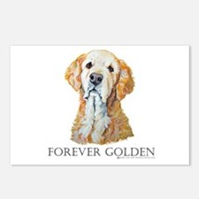 Golden Retreiver Dog Gifts Postcards (Package of 8