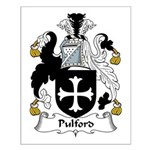 Pulford Family Crest Small Poster