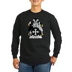 Pulford Family Crest Long Sleeve Dark T-Shirt