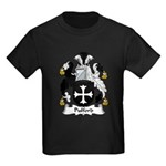 Pulford Family Crest Kids Dark T-Shirt