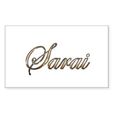Gold Sarai Decal