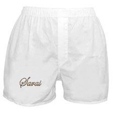 Gold Sarai Boxer Shorts