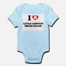 I love Little Compton Rhode Island Body Suit