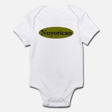 Nuyorican-3 Infant Bodysuit