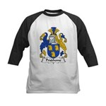 Prudhome Family Crest Kids Baseball Jersey