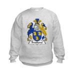Prudhome Family Crest Kids Sweatshirt