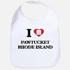 I love Pawtucket Rhode Island Bib