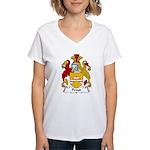 Proud Family Crest Women's V-Neck T-Shirt