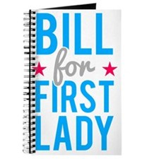 Bill for First Lady Hillary Clinton Journal