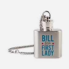 Bill for First Lady Hillary Clinton Flask Necklace