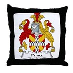 Prince Family Crest Throw Pillow