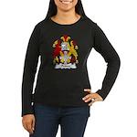 Prince Family Crest Women's Long Sleeve Dark T-Shi