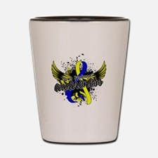 Down Syndrome Awareness 16 Shot Glass