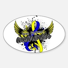 Down Syndrome Awareness 16 Decal