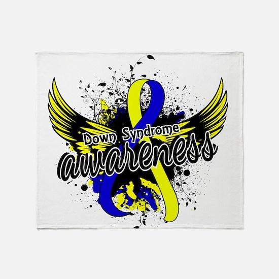 Down Syndrome Awareness 16 Throw Blanket