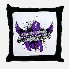 Domestic Violence Awareness 16 Throw Pillow