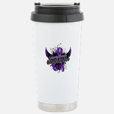 Domestic Violence Aware Stainless Steel Travel Mug
