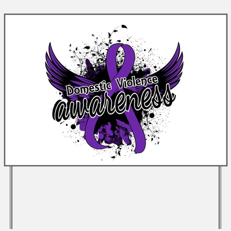 Domestic Violence Awareness 16 Yard Sign