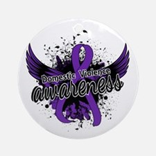 Domestic Violence Awareness 16 Ornament (Round)