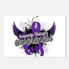 Domestic Violence Awarene Postcards (Package of 8)