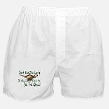 Don't Rub the Genie Lamp Boxer Shorts