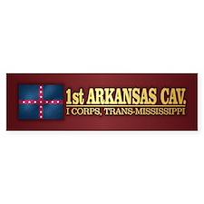 1st Arkansas Cavalry Bumper Bumper Sticker