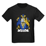 Pridham Family Crest Kids Dark T-Shirt