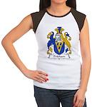 Pridham Family Crest   Women's Cap Sleeve T-Shirt
