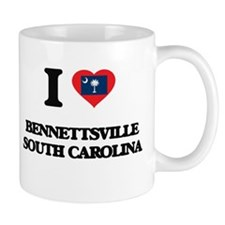 I love Bennettsville South Carolina Mugs