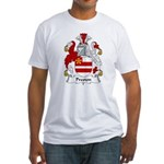 Preston Family Crest Fitted T-Shirt