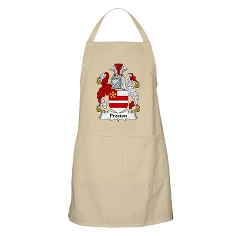 Preston Family Crest BBQ Apron
