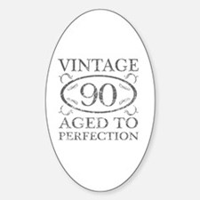 90th Birthday Vintage Decal