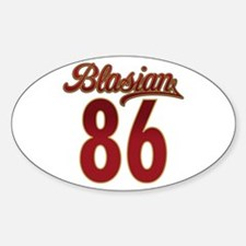 Blasian 86 Collection Oval Decal